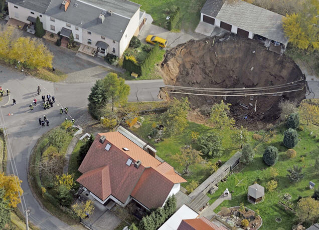 The Dangers of Sinkholes – Subrogation & Recovery Law Blog