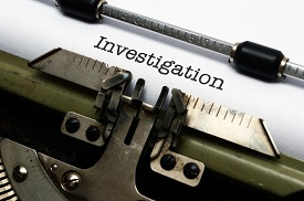 Discovery of Initial Claims Investigation Documents