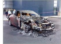 Burned Out Car Hulk