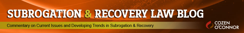 Subrogation & Recovery Law Blog