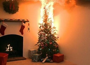 Christmas Tree On Fire.Ode To The Burning Christmas Tree Subrogation Recovery